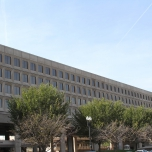 Fragment Retention window films installation at U.S. Department of Energy
